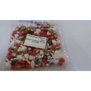 Preciosa 92-MIX-CATHEDRAL BEADS