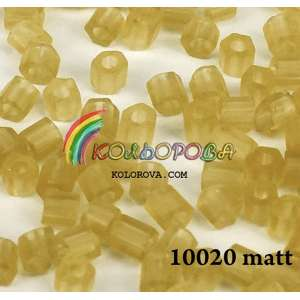 Preciosa 10\0 рубка - 10020 матовий