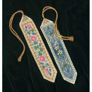 """Набір для вишивання хрестиком """"Елегантні закладки - Elegant Bookmarks"""" DIMENSIONS 06783"""