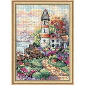 """Набір для вишивання хрестиком """"Маяк на світанку - Beacon at Daybreak"""" DIMENSIONS 06883"""