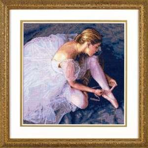 """Набір для вишивання хрестиком """"Краса балерини - Ballerina Beauty"""" DIMENSIONS 35181"""