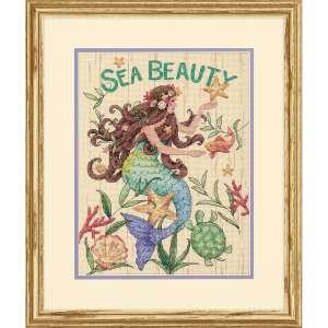 """Набір для вишивання хрестиком """"Морська краса - Sea Beauty"""" DIMENSIONS 70-35376"""