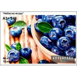 "Картина для вишивки формату А3+ 248 ""Небесна ягода"""