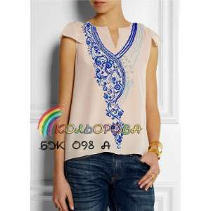 Блузка женская без рукавов БЖ-098А