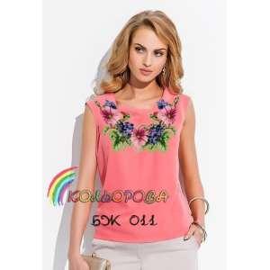 Блузка жіноча без рукавів БЖ-011