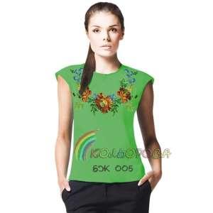 Блузка жіноча без рукавів БЖ-005