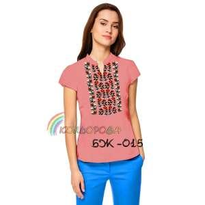 Блузка жіноча без рукавів БЖ-015
