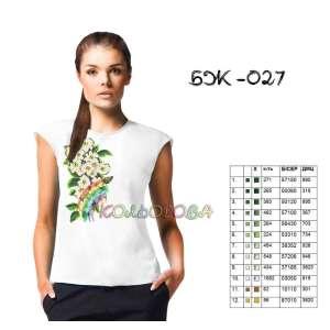 Блузка жіноча без рукавів БЖ-027