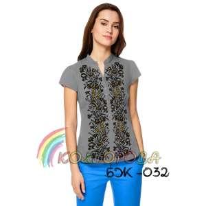 Блузка жіноча без рукавів БЖ-032