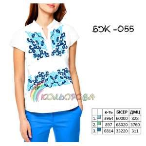 Блузка жіноча без рукавів БЖ-055