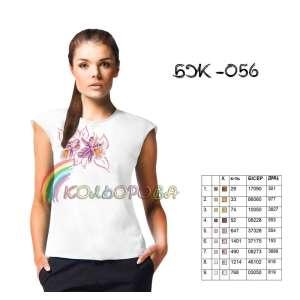 Блузка жіноча без рукавів БЖ-056