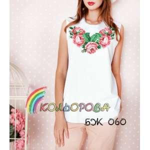 Акція! Блузка жіноча без рукавів БЖ-060