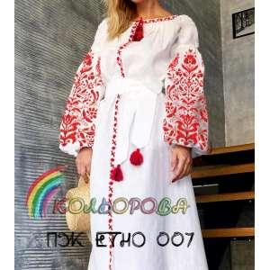 Плаття жіноче ПЖ ЕТНО-007