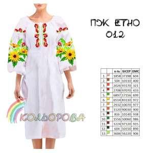 Плаття жіноче ПЖ ЕТНО-012