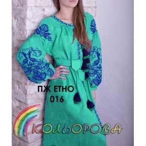 Плаття жіноче ПЖ ЕТНО-016