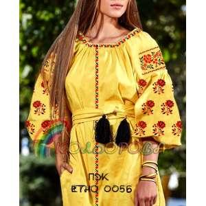 Плаття жіноче ПЖ ЕТНО-005Б