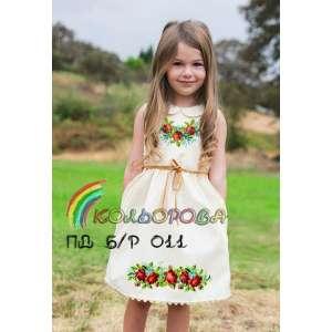 Платье детское (5-10 лет) ПДб/р-011