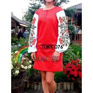 Плаття жіноче комбіноване ПЖК-076