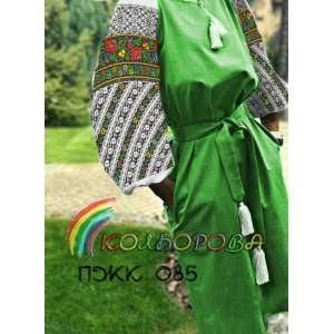 Плаття жіноче комбіноване ПЖК-085