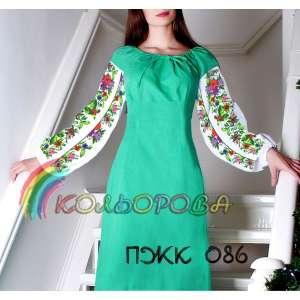 Плаття жіноче комбіноване ПЖК-086