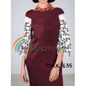 Плаття жіноче комбіноване ПЖК-135
