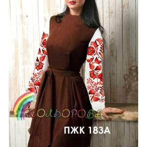 Плаття жіноче комбіноване ПЖК-183А
