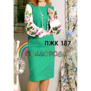 Плаття жіноче комбіноване ПЖК-187