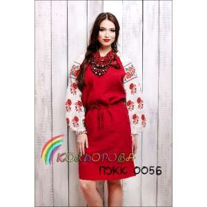 Плаття жіноче комбіноване ПЖК-005Б