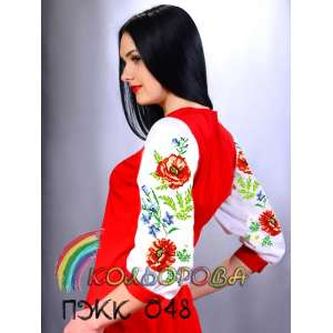 Плаття жіноче комбіноване ПЖК-048