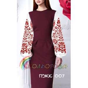 Плаття жіноче комбіноване ПЖК-007