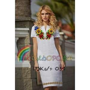 Плаття жіноче без рукавів ПЖб\р-034