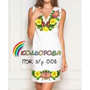Платье женское без рукавов ПЖб\р-008
