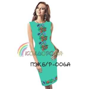 Платье женское без рукавов ПЖб\р-006А