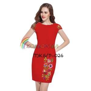 Плаття жіноче без рукавів ПЖб\р-026