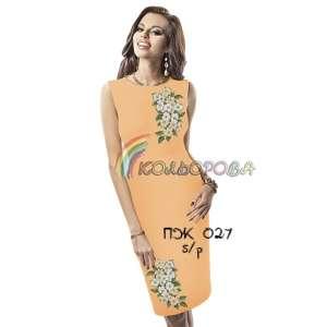 Плаття жіноче без рукавів ПЖб\р-027