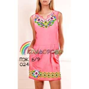 Плаття жіноче без рукавів ПЖб\р-024