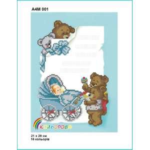 Метрика дитяча А4М 001