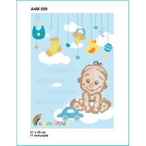 Метрика дитяча А4М 009