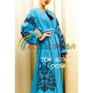 Платье женское с рукавами БОХО-003А