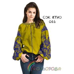 Сорочка женская СЖ-ЕТНО-016