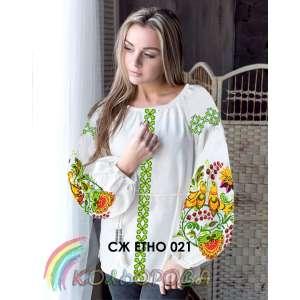 Сорочка женская СЖ-ЭТНО-021