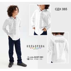 Сорочка дитяча (хлопчики 5-10 років) СДХ-065