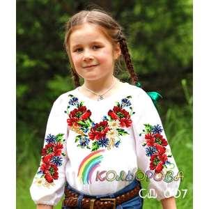 Сорочка детская (девочки 5-10 лет) СДД-007