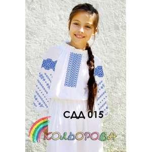 Сорочка дитяча (дівчатка 5-10 років) СДД-015