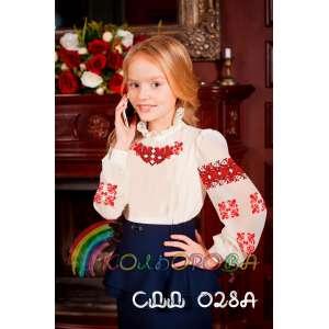 Акція! Сорочка дитяча (дівчатка 5-10 років) СДД-028A