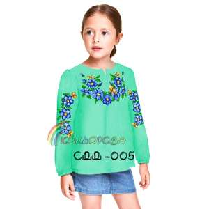 Сорочка дитяча (дівчатка 5-10 років) СДД-005