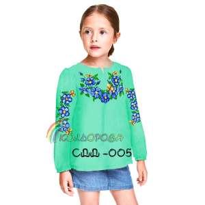 Сорочка детская (девочки 5-10 лет) СДД-005