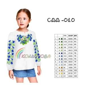 Сорочка дитяча (дівчатка 5-10 років) СДД-010