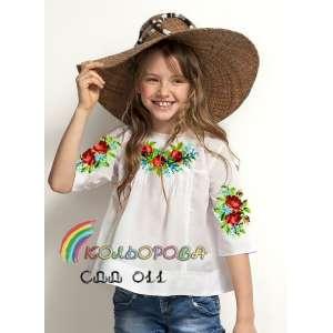 Сорочка дитяча (дівчатка 5-10 років) СДД-011