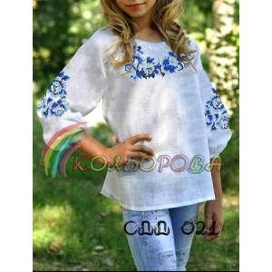 Сорочка дитяча (дівчатка 5-10 років) СДД-021
